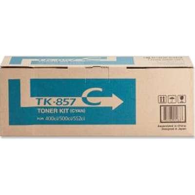 1020377861 - Wonderful Deals for the TK-857C Kyocera TASKalfa 400ci Cyan Toner Cartridge Kit
