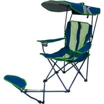 This canopy c&ing chair features an integrated fold-out footrest so you can kick-back and relax while you take in the ...  sc 1 st  Provantage & PROVANTAGE: SwimWays 80346 Orig Canopy Chair Ottoman Navy