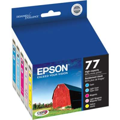 PROVANTAGE: EPSON T077920-S Colr Mutipck Ink Cartridge High