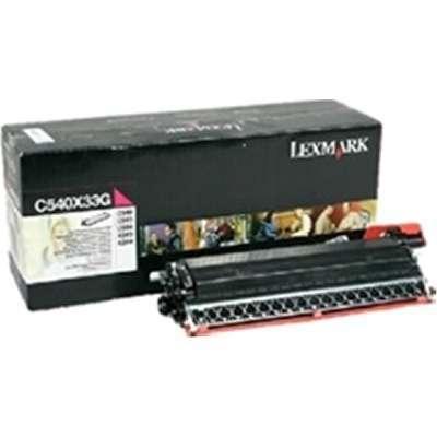 Toner MAGENTA für Lexmark X-544-DTN C-544-DW C-544-DTN C-544-N C-546-DTN