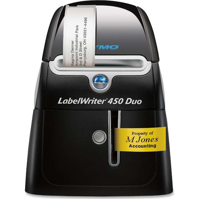 PROVANTAGE: DYMO 1752267 LabelWriter 450 Duo Label Printer