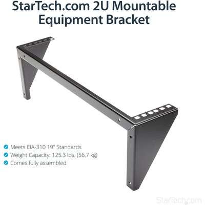 Startech RK219WALLV 2U 19 Wall Mount Rack Bracke