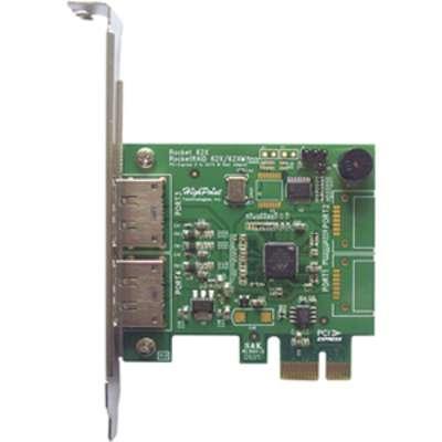 HighPoint SATA RocketRAID622 SATA 6Gb//s Adapter CIE2.0x1 RAID 5 Capable Retail