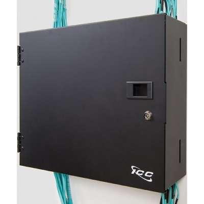 ICC LGX Fiber Optic Wall Mount Enclosure with 2 Panels