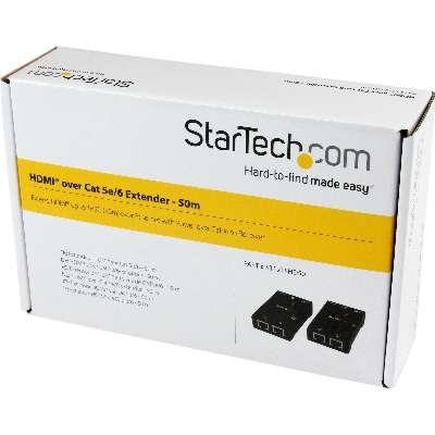 PROVANTAGE: StarTech com ST121SHD50 HDMI Over CAT5/CAT6