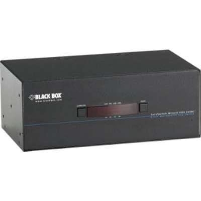 Black Box ServSwitch Wizard DVI DL USB KVM switch 4-port KV2404AQuad Head