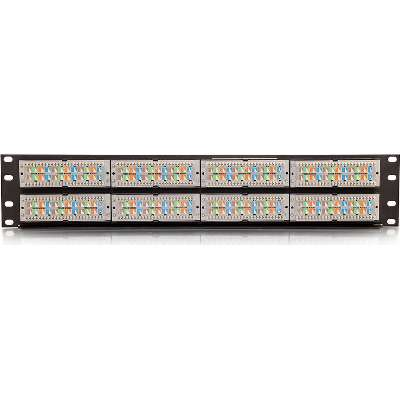 C2G 37200 48-Port Cat6 110-Type Patch Panel