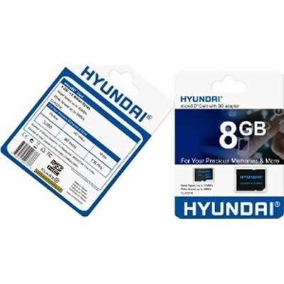 PROVANTAGE: Hyundai Technology MHYMSDC8GC4 8GB microSDHC C4