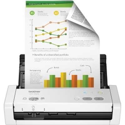 PROVANTAGE: Brother ADS-1250W Wireless Compact Desktop Scanner