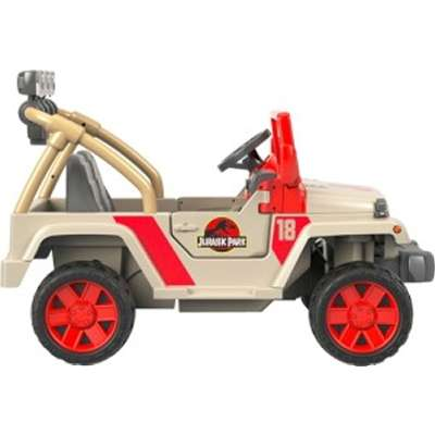 2f98b197d8a78 PROVANTAGE  Fisher Price FRC33 Power Wheels Jurassic World Jeep Wrangler