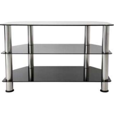 Provantage Avf Group Sdc800 A Glass Chrome Tv Stand To 40