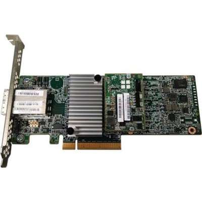 The ServeRAID M5225 2GB SAS SATA Controller Is A 12 Gb RAID With Two External Connectors To Connect Expansion Enclosures